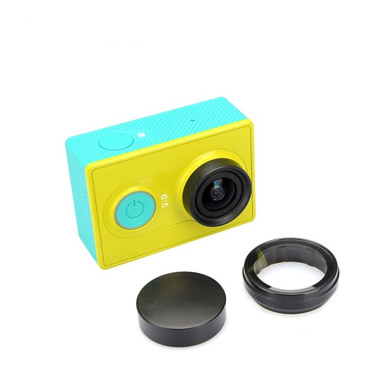 XIAOMIN Silicone Lens Cap for Xiaomi Yi//GoPro Hero4 3+ 3 Premium Material Color : White