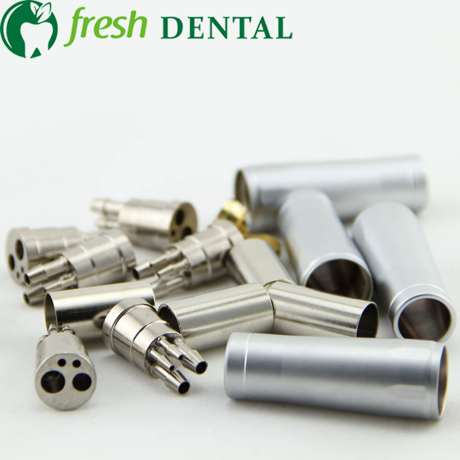 Friendly Free Shipping Dental High Speed Handpiece Turbine Adapter From 4 Holes To 2 Holes Changer Connector Tool For Air Motor Teeth Whitening