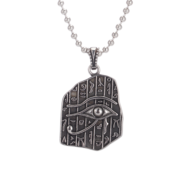 Dropshipping Eye Of Horus Egyptian Sun God Symbol Pendant Necklace