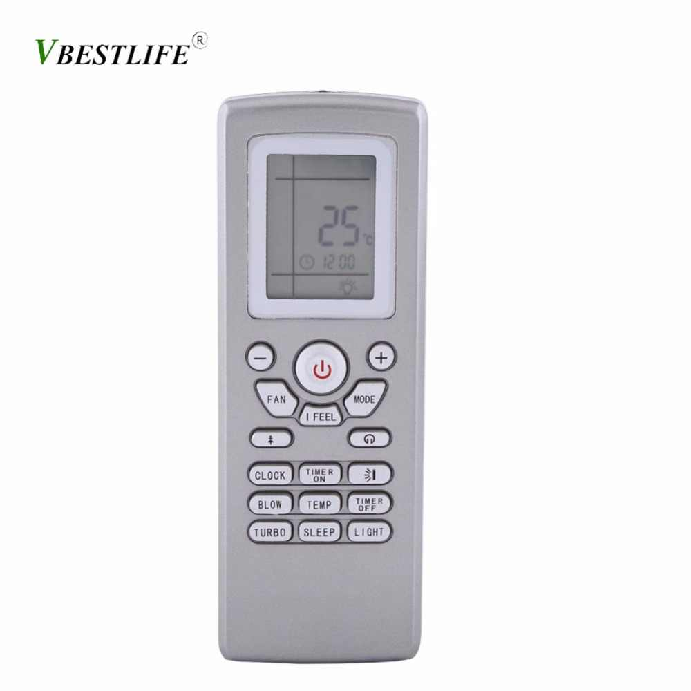 Air Conditioning Universal Remote Control Suitable for Gree Yt1f Yt1ff Yt1f1 Yt1f2 Yt1f3 Yt1f4 Yt Digital LCD Display Controller