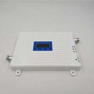 Image 4 - 75dB كسب 2 جرام 3 جرام 4 جرام الثلاثي الفرقة الداعم الخلوية GSM 900 + DCS/LTE 1800 + FDD LTE 2600 هاتف محمول مكرر إشارة المحمول مكبر للصوت
