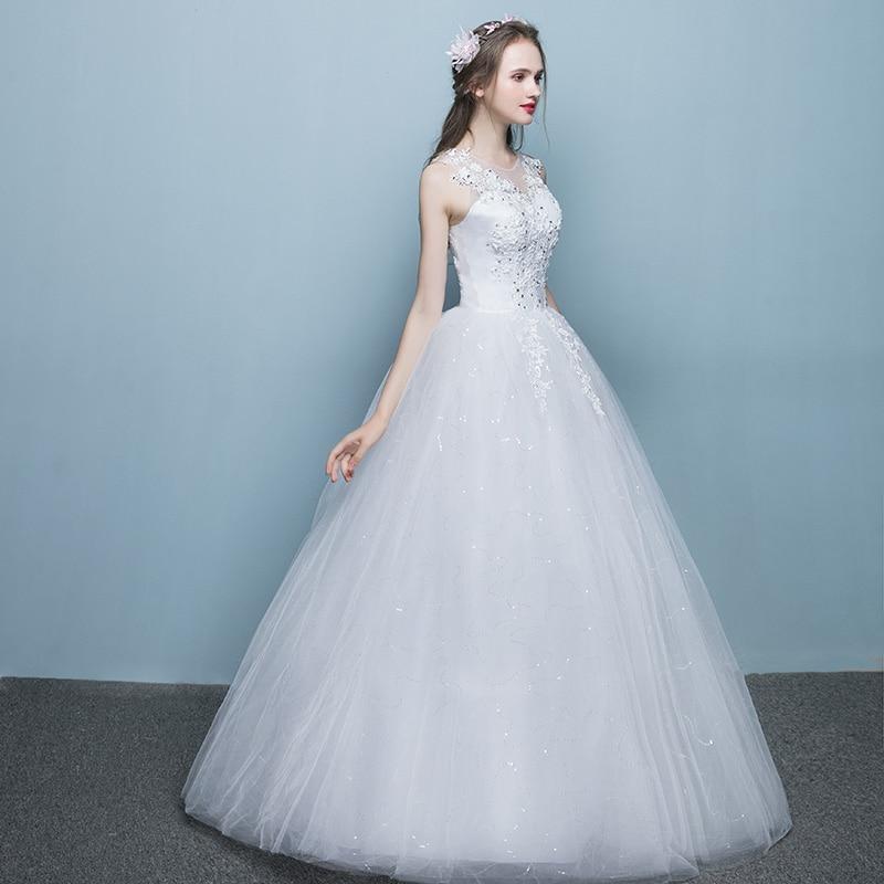LAMYA Elegante Bodenlangen Brautkleider Prinzessin Plus Size ...