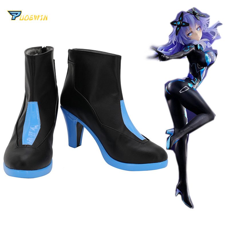 Hyperdimension Neptunia Neptune Ultra Dimension Cosplay Shoes Boots