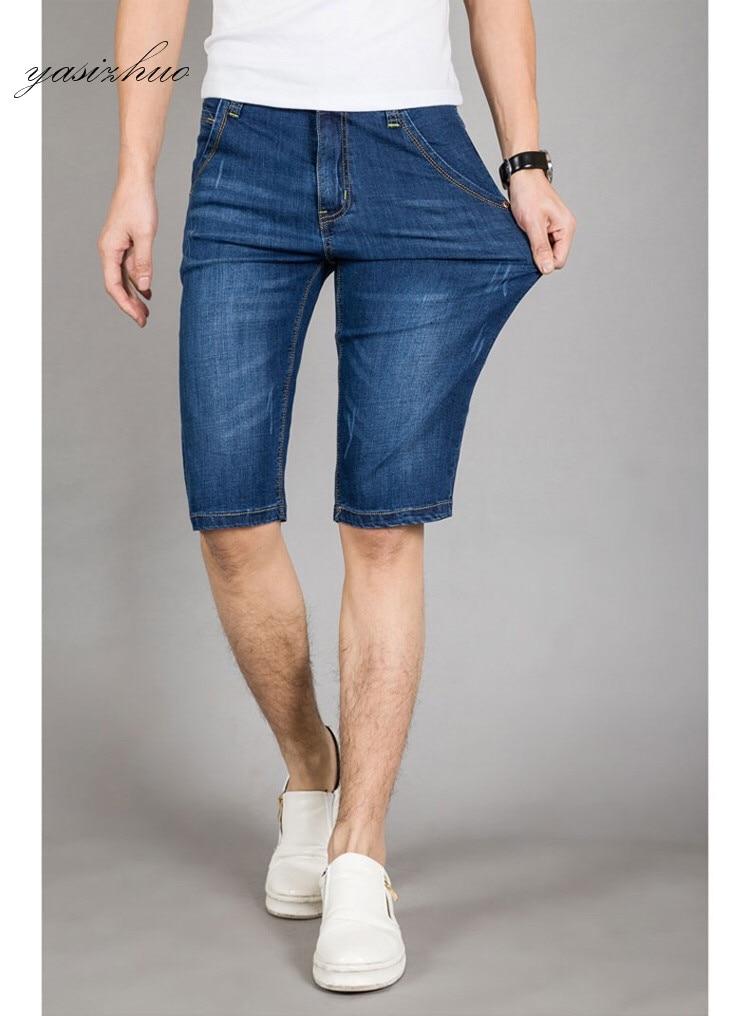 Free shipping Brand Men Jeans Shorts summer Fashion Casual straight Jeans Shorts blue cotton denim beach short pants 28-40 фильтр для воды новая вода expert osmos mo510