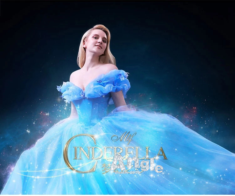 Bridal Wedding Dress Cosplay Costume Adult Girls Elsa Anna Snow White 2015 Hot Movie Sandy Princess Cinderella Birthday Gift On Aliexpress