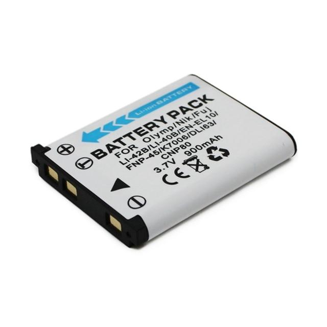 WHCYonline 900mAh Li 42B Li42B Li 40B Li40B Bateria Da Câmera Para Olympus U700 FE230 FE250 FE340 FE290 FE320 FE360 U1040 X915 VR320