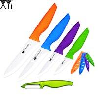 Zirconium Oxide Ceramic Knives 3 4 5 6 Handmade Cooking Tools XYJ Brand Kitchen Knife Set
