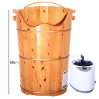 Foot bath barrel full package fumigation temperature foot bath barrel heightening 60 cm foot tub Foot massage