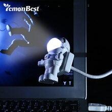 USB чтение светильник светодиодный Ночной светильник для Спальня ночника дети космонавта книга стол светильник для ПК Тетрадь ноутбук