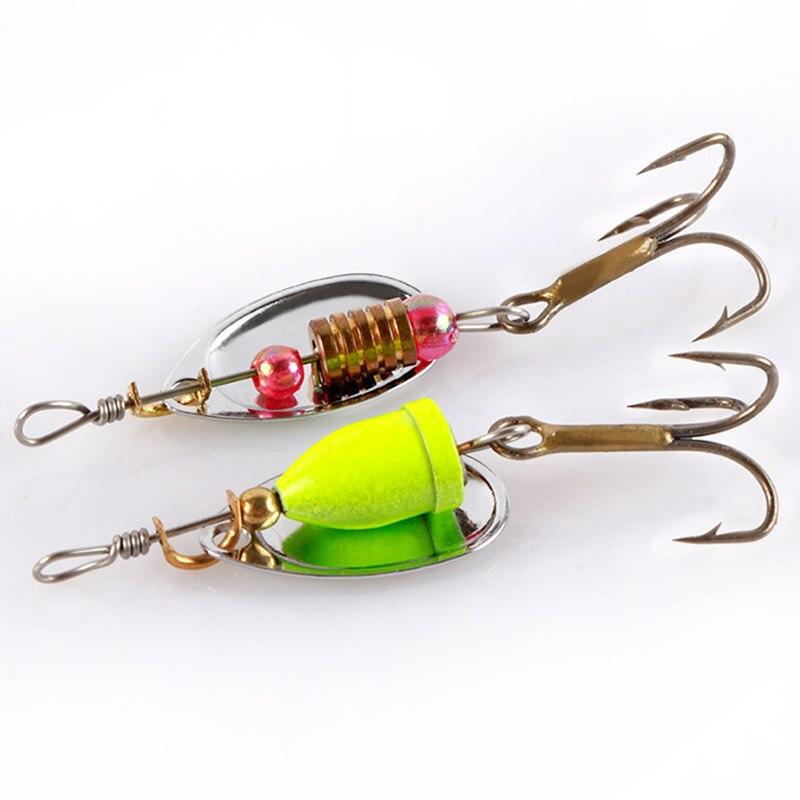 30 Pcs/Lot Colourful Metal Spinners Fishing Lure Artificial Wirebait Spoon <font><b>Hooks</b></font> Jig Wobbler Hard Baits Set Pesca 2/3/4g
