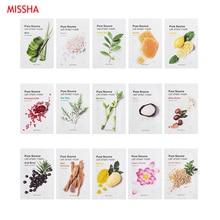 MISSHA Pure Source Cell Sheet Mask Face Skin Care Facial Mask Hydrating Anti Aging Whitening Acne Treatment Mask Korea Cosmetics недорого