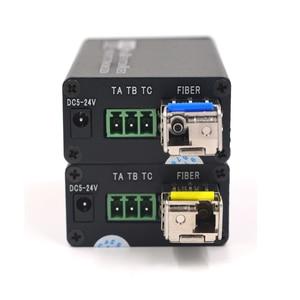 Image 3 - Konwertery światłowodowe Mini HD SDI z SFP simplex LC jednomodowy sygnał SDI nad włóknem 20Km