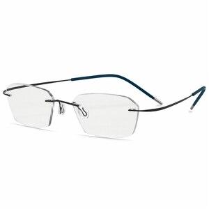 Image 4 - חדש מעבר משקפי שמש טיטניום Photochromic קריאת משקפיים גברים רוחק פרסביופיה דיופטריות חיצוני פרסביופיה משקפיים