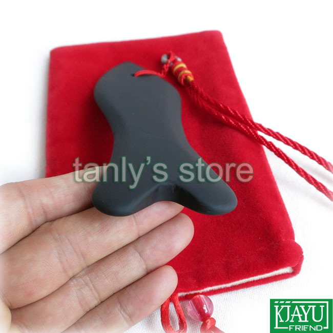 Massage Tool Women Beauty Stone Healthy Care Tool Wholesale Retail Traditional Acupuncture Guasha Board Natural black stone in Massage Relaxation from Beauty Health