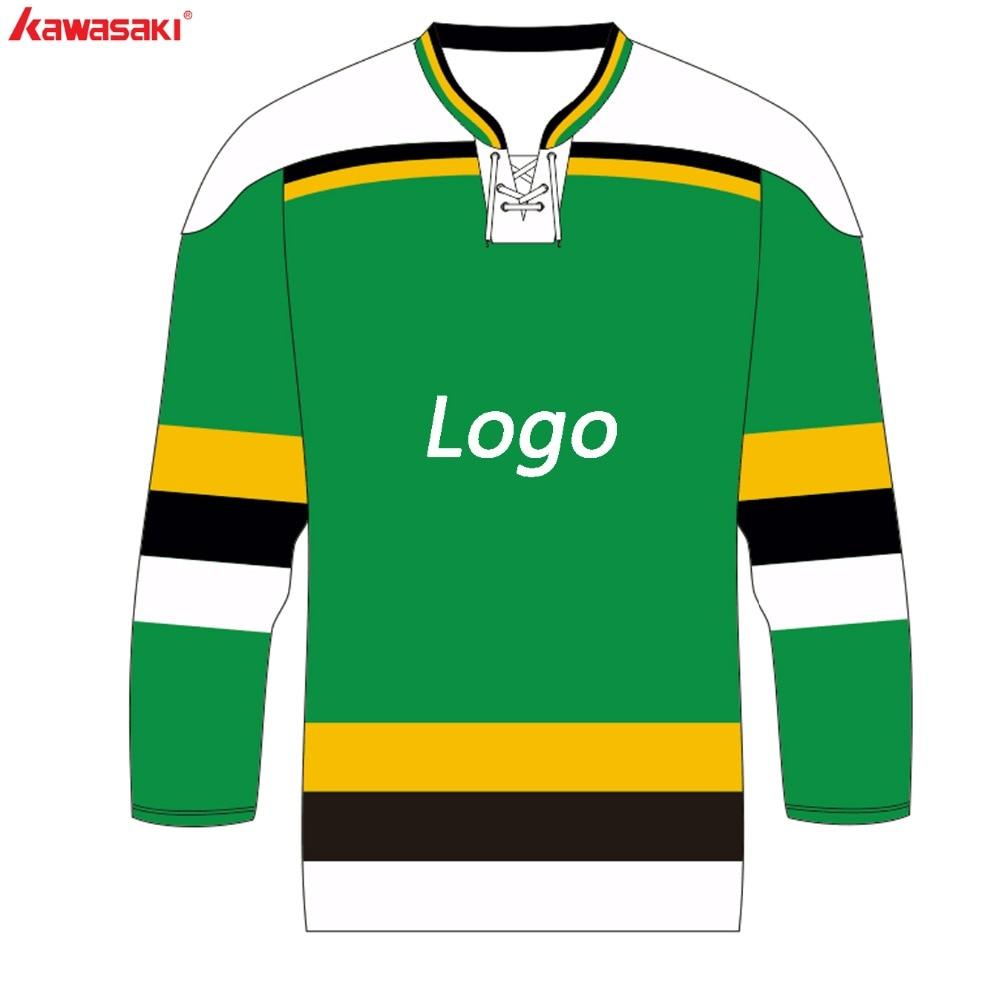 fb186096cdaa3 Original Kawasaki Brand Custom Ice Hockey Jersey MensTop V Neck With Rope  Softy Sports Hockey Jerseys Shirts Plus Size XS-4XL