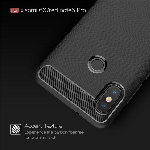 sale retailer 6f2a9 1bd96 US $2.38 |Redmi Note 5 Pro Case 64GB Silicone Armor Bumper Shockproof Back  Cover Rugged Case for Xiaomi Redmi Note 5 Pro Global 5.99inch-in Fitted ...