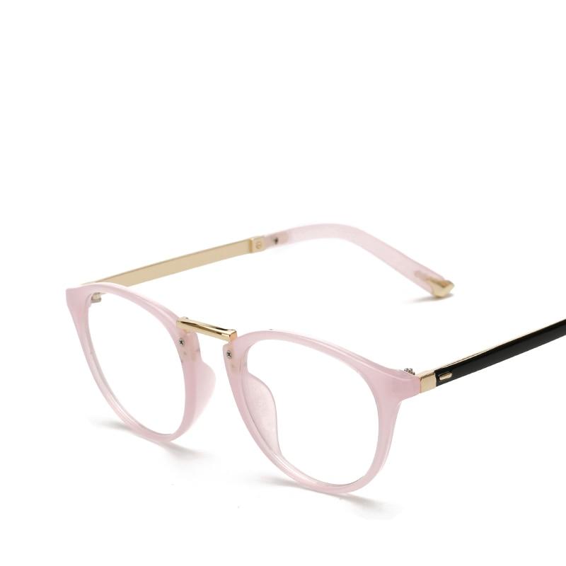 2017 New Pink Eyewear Optical Brand Round Glasses Frame ...