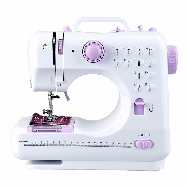 40 Stitches Mini Household Sewing Machine 40A Portable Knitting Adorable Generic Sewing Machine Feet