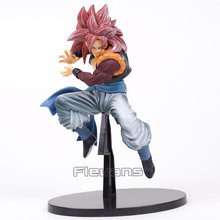 Scultures BIG 7 ESPECIAL Super Saiyan Dragon Ball GT 4 Gogeta PVC Figure Collectible Modelo Toy 22 cm(China)