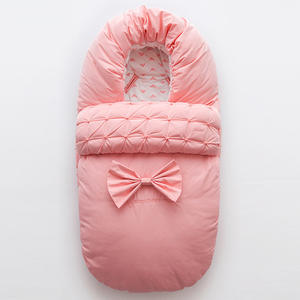 Cocoon-Envelope Blanket Swaddle Sack Carriage Sleeping-Bag Newborns for Bow Baby