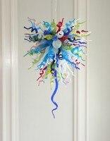 Modern Venetian Style Blown Glass Chandelier European