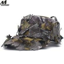 Minhui быстросохнущая летняя шляпа для мужчин Военная Кепка Кленовый лист печать армейская Кепка антитеррористические камуфляжные шапки для мужчин плоская кепка