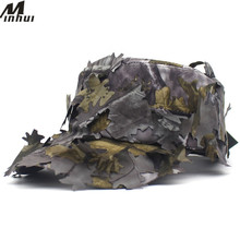 Hat Men Army-Cap Camouflage Minhui for Anti-Terrorism Leaf-Print Quick-Drying Maple Summer