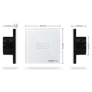 Image 3 - オリジナル funry eu 標準 1 ギャング 1 ウェイスイッチリモコン wifi/アプリ制御光スイッチ 170 240 v RF433MHz スマート制御