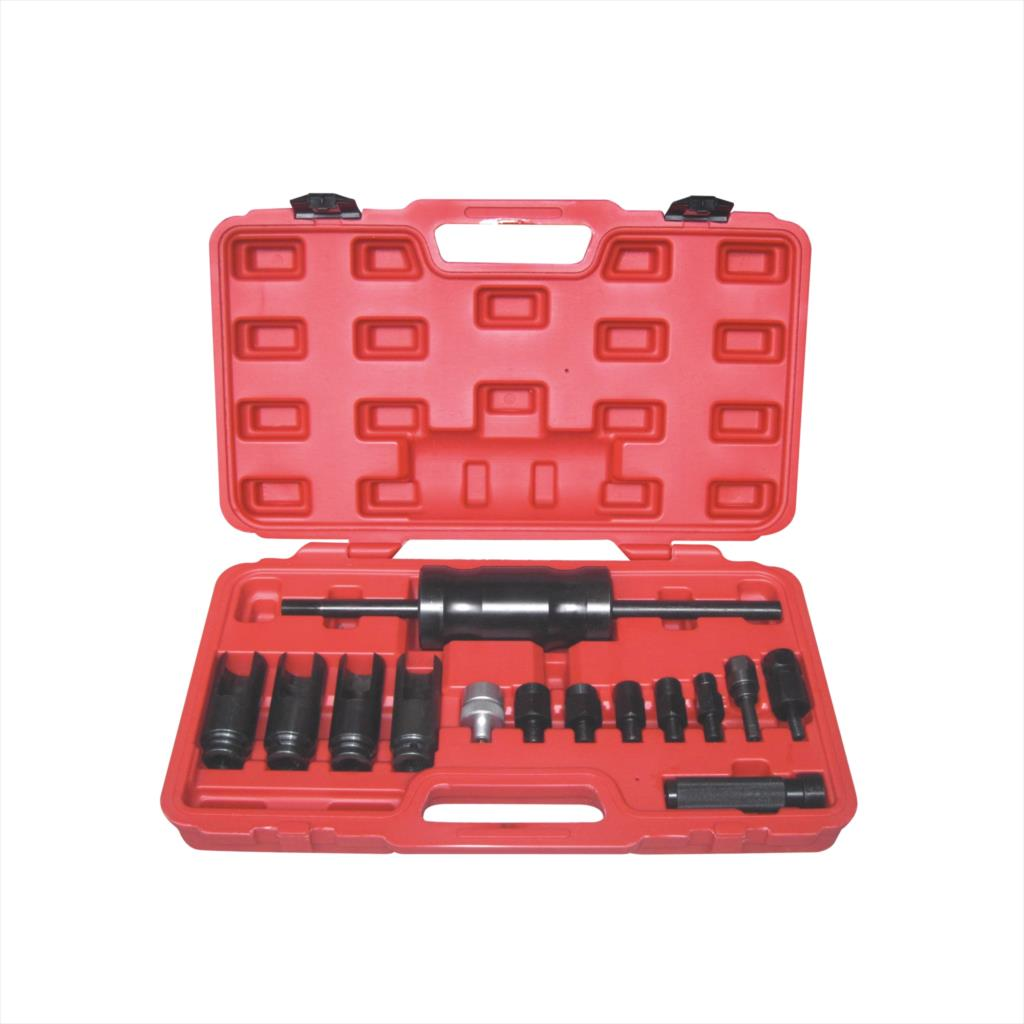 Common Rail Adaptor Injection Injector Puller Set Diesel Injectors Tool Kit diesel fuel common rail injector dismounting puller tool for all brands injectors common rail injector removal tool