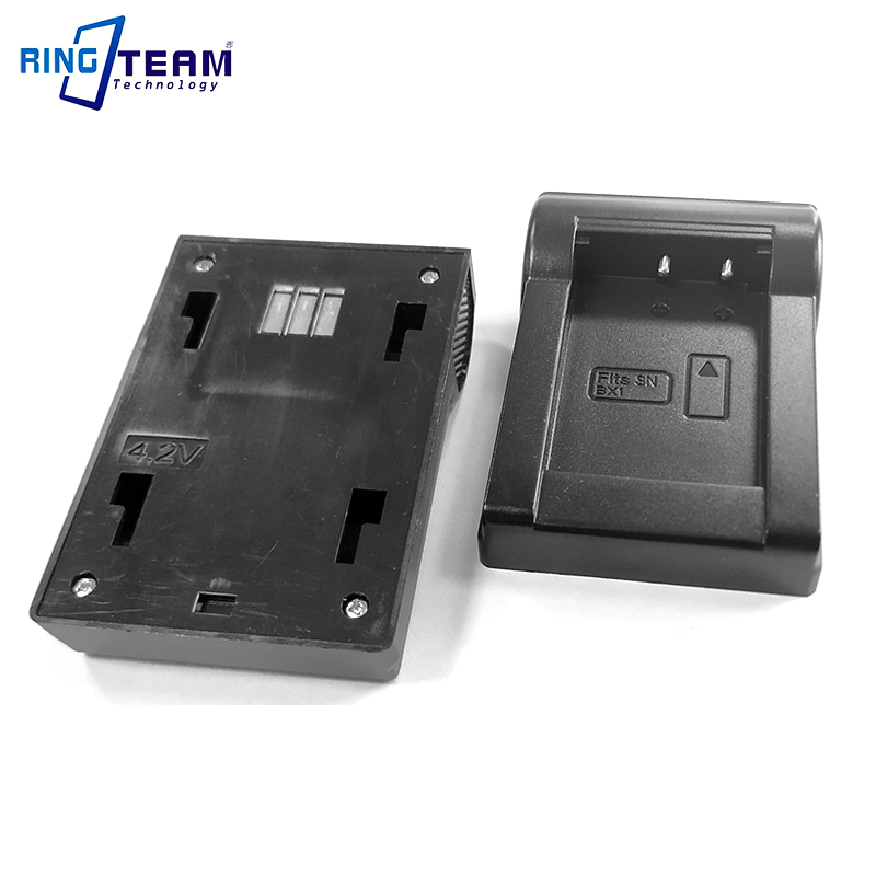 2Pcs Top <font><b>Parts</b></font> Cradle of LCD Dual Charger for <font><b>SONY</b></font> NP-BX1 NP BX1 Battery Fits for Cameras HX400 H400 HX300 <font><b>HX50</b></font> HX80 HX90 ... image