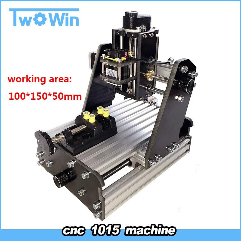 Mini CNC Router 3 Axis CNC 1015 Milling Machine DIY Desktop Laser Engraving Machine Marking Plotter Mini Machine