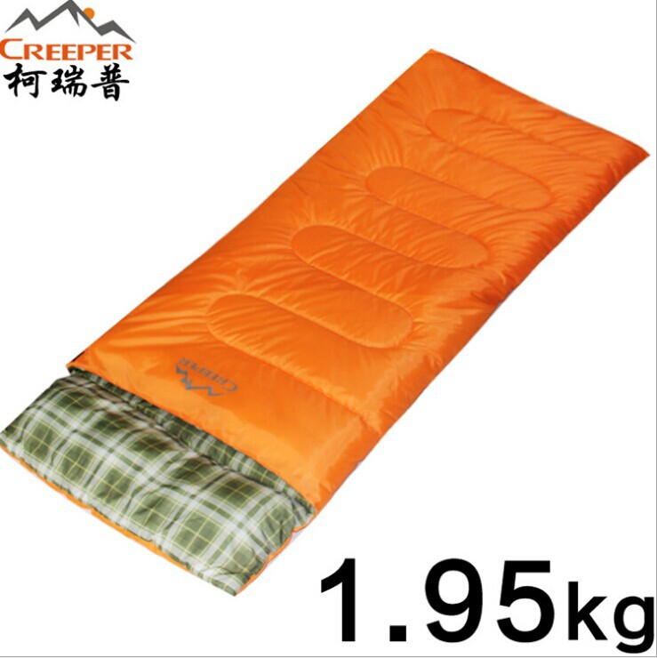 ФОТО Adult  ultralight sleeping bag outdoors spring and autumn and winter thick cotton sleeping bags outdoor supplies wholesale