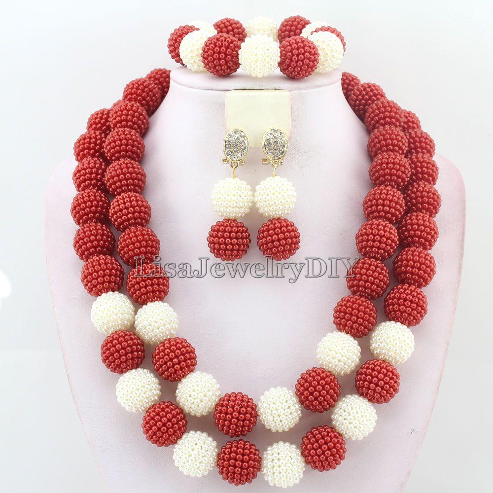High Qulity African Beads  Jewelry Set Wedding Jewelry Set   Nigerian Wedding African  Beads Jewelry Set  HD4751High Qulity African Beads  Jewelry Set Wedding Jewelry Set   Nigerian Wedding African  Beads Jewelry Set  HD4751