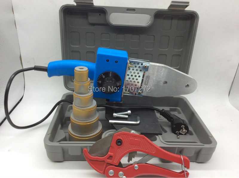 the plastic welding equipment temperature controled PPR welding Machine, plastic welder AC 220V 800W 20-63mm  цены