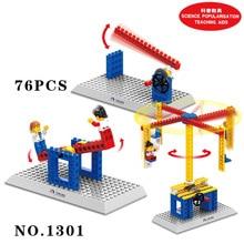Mini DIY Mechanical Building Blocks Kits Children DIY Educational Science Toys For Kids  Christmas Birthday Gifts