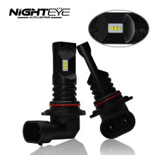 NIGHTEYE Car Fog Lights led Daytime Running Light H7 LED Bulbs H11 H8 High 9005 HB3 9006 HB4 Power COB 1600LM White H7 Lamp 2Pcs(China)