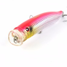 NOEBY 1 Pcs Fishing Lure 120mm/29g Top Water Hard Bait Popper VMC Treble Hooks Crankbait Lures Isca De Pesca Strong Temptation