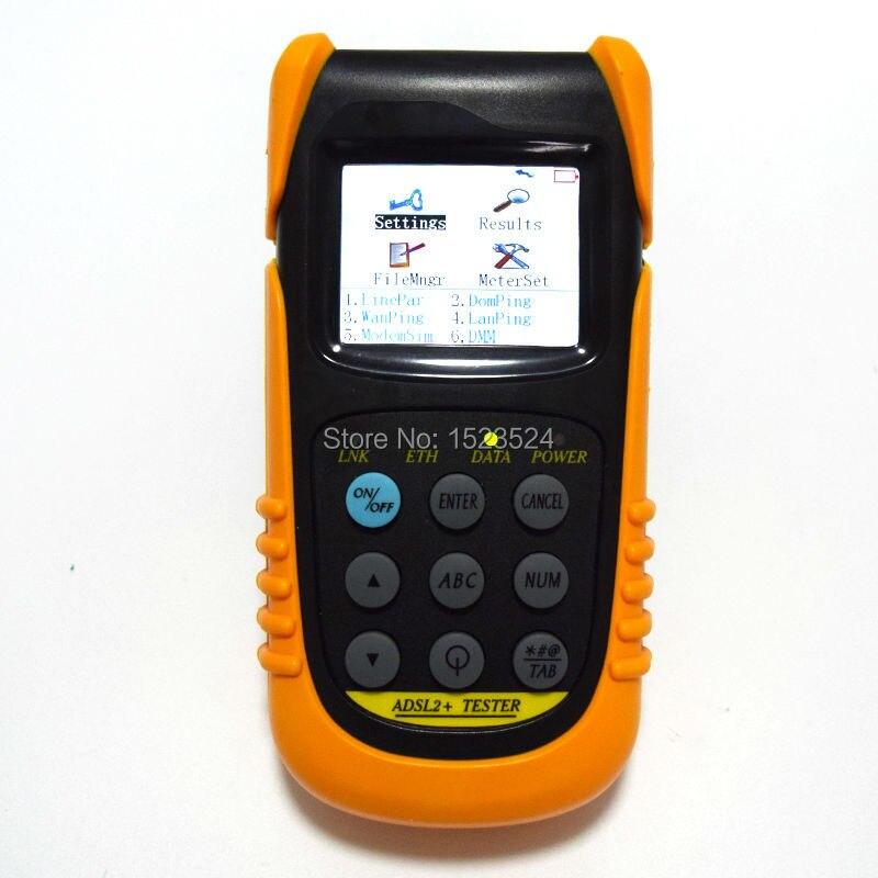 Nouveau testeur ADSL TLD801D multifonction ADSL2 + testeur avec DMMNouveau testeur ADSL TLD801D multifonction ADSL2 + testeur avec DMM
