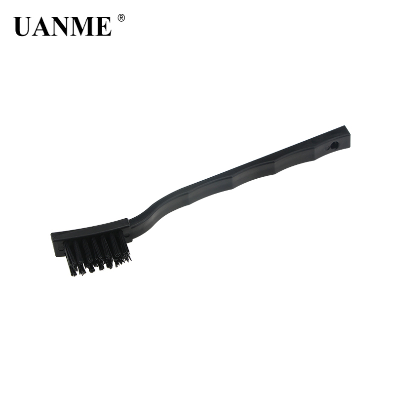UANME  Black Non Slip Handle PCB Rework ESD Anti Static Dust Brush 17cm For Mobile Phone Tablet BGA Repair Soldering