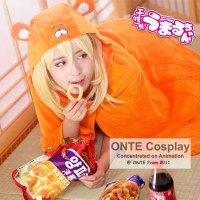 ONTE Hot New Sankaku Head Himouto Umaru Chan Umaru Doma Cosplay Costumes MARMOT Air Conditioning Blanket
