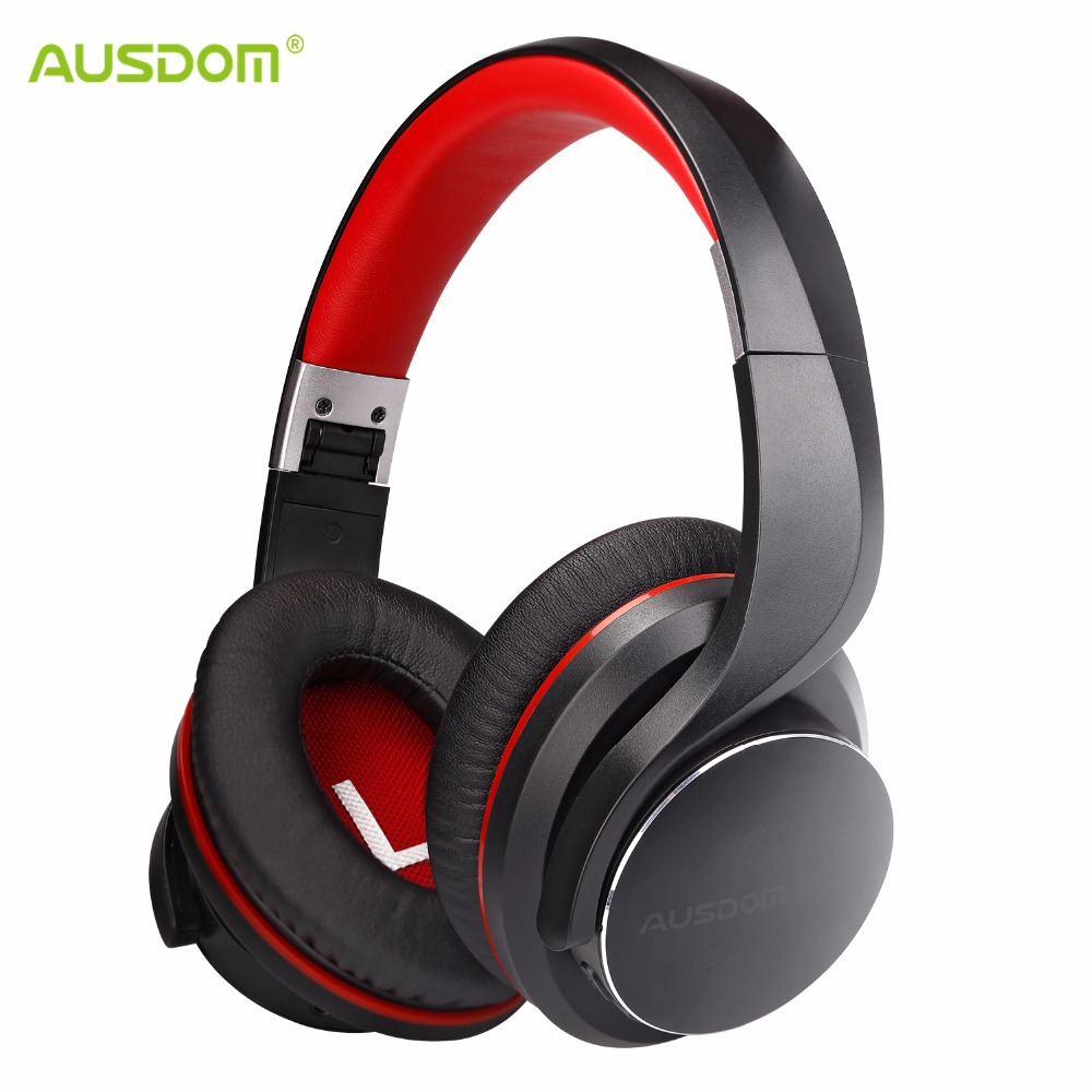 Ausdom AH3 AptX Low Latency Bluetooth Headphone V4.2 Wireless Headphones For Gaming Over Ear