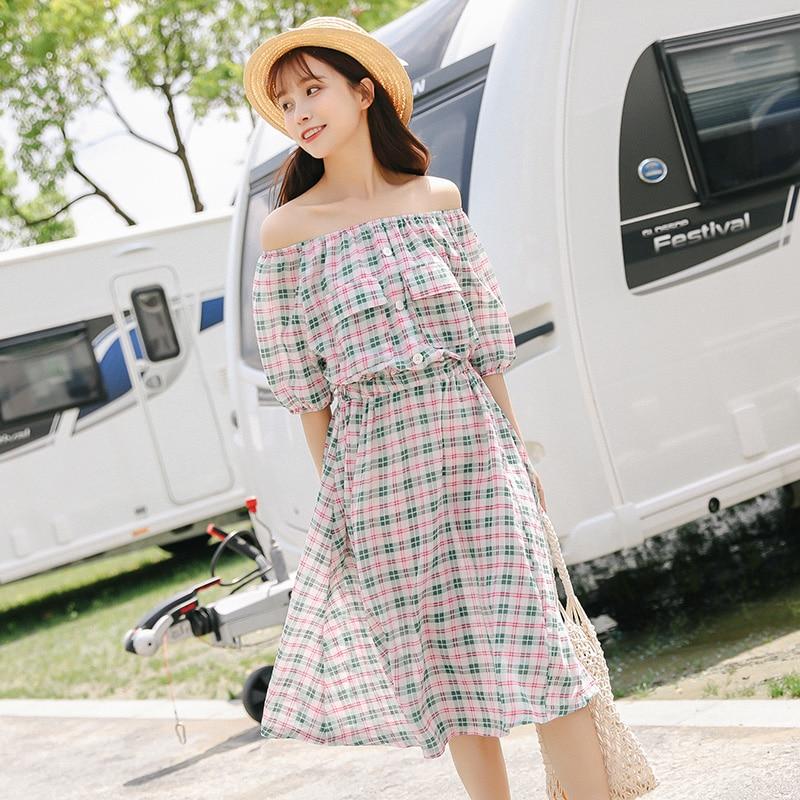 summer dress women 2019 bts ulzzang harajuku kawaii korean ...
