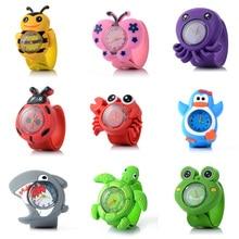 3D Animal Children's Watches Fashion Silicone Strap Quartz Wristwatches Kids Boy Girl Cartoon Watch Baby Clock все цены