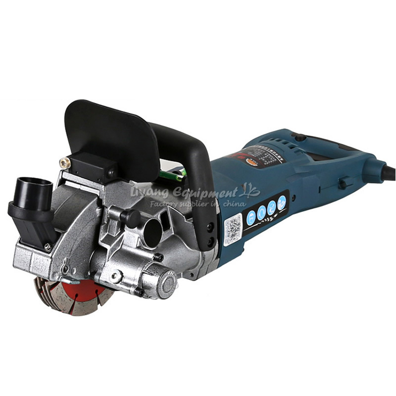 Multifunction Wall Groove Cutting Machine Wall Chaser Machine CW6121 For Brick & Granite Marble & Concrete