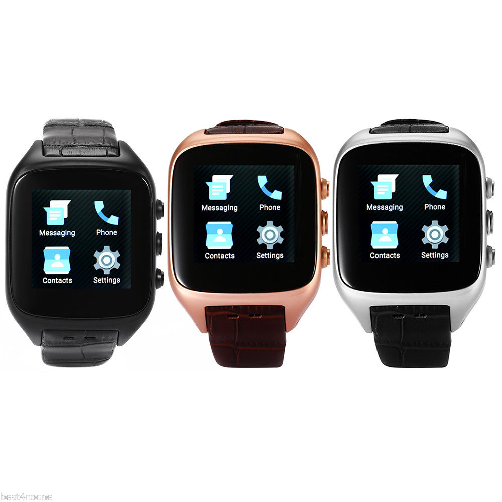 X01S 3G 4 4 Bluetooth font b SmartWatch b font MTK6572 Dual Core 1 54 IP67