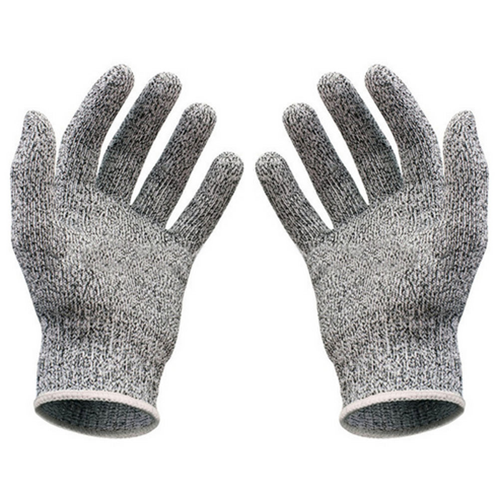 Stainless steel cut proof gloves safety cut proof stab resistant ...