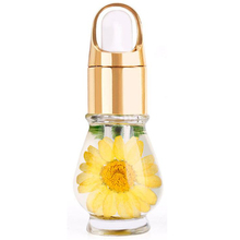 Nail Cuticle Oil Professional Nutrition Dried Flowers Manicure Tools Transparent Flower Flavor R