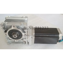 NEMA 34 Worm Reducer Stepper Motor 7.5:1~80:1 Length 98mm 6.5 N.m (903oz-in)Nema Gear CE ROHS
