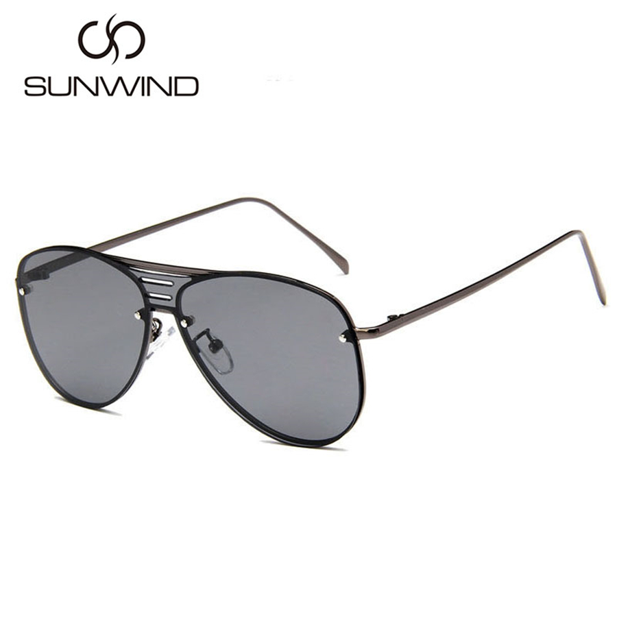 Brand Design Woman Sunglasses Retro Ladies One Piece Goggle Vintage - Accesorios para la ropa