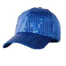 BINGYUANHAOXUAN Fashion Fancy Funny Shiny Baseball Hip Hop Hat Glitter Dance Party Snapback Caps